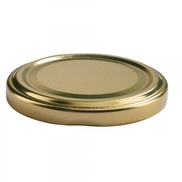 Twist-Off Deckel TO 63 gold pasteurisierbar