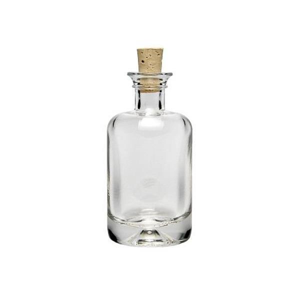 Runde Glasflasche Apothekerflasche mit Korken 40 ml Korkenflasche