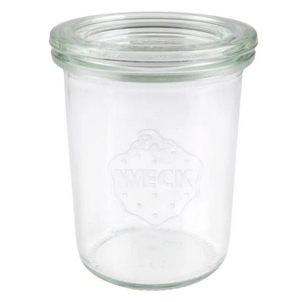 WECK Sturzglas 160 ml Einmachglas mit Deckel