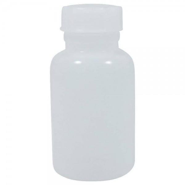 250 ml Weithalsflasche mit Schraubverschluss Kunststoff