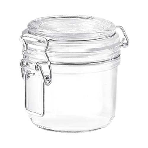 Glasdose 200 ml mit Bügelverschluss