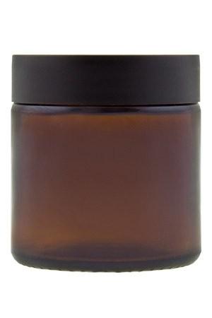 Glastiegel 120 ml Braunglas Tiegel für Creme s