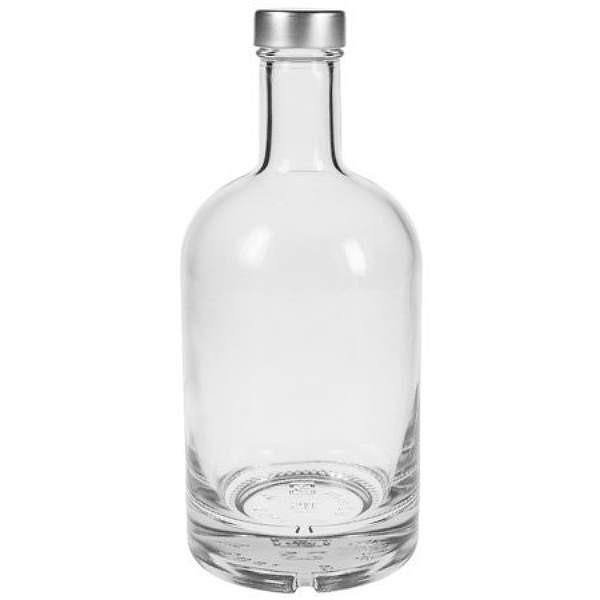 Glasflasche 500 ml Ginflasche Likörflasche leer mit dickem Boden kaufen