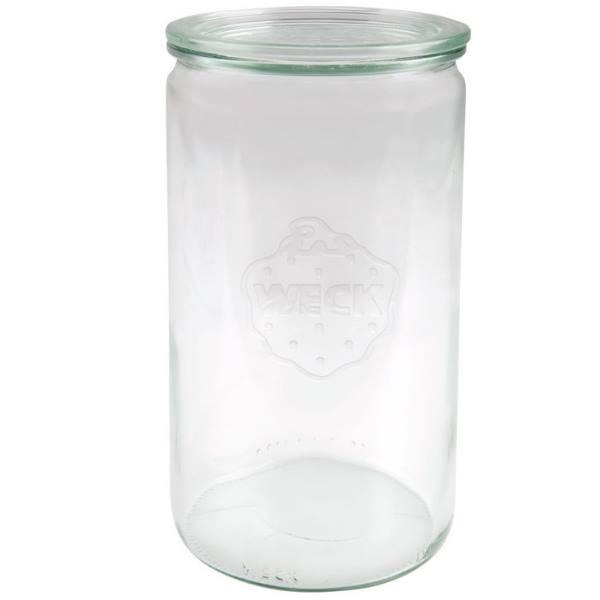 Weckglas Zylinderglas 1590 ml mit Deckel