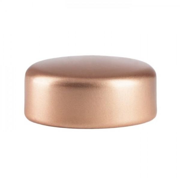 Schraubverschluss Deckel GPI 28 Kupfer