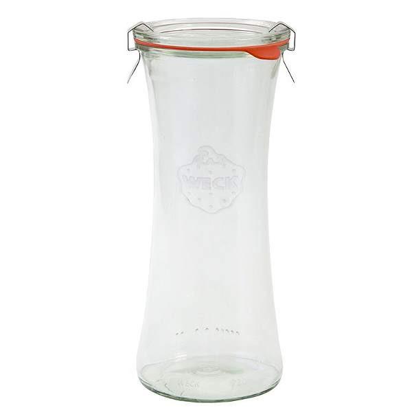 Weckglas Delikatessenglas 700 ml mit Gummiring und Klammern