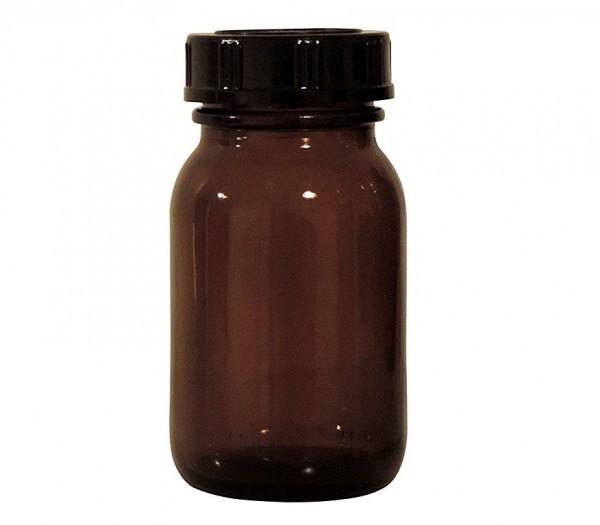 Apothekerglas 100 ml braun Glasdose