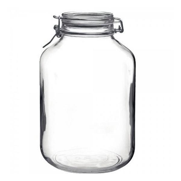 Bormioli Fido 5 Liter Einmachglas Vorratsglas mit Bügelverschluss