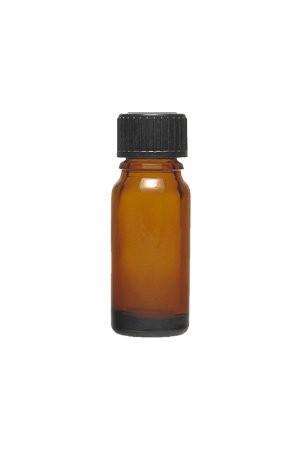 Braune Apothekerflasche 10 ml mit Schraubverschluss DIN 18